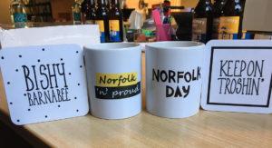 Norfolk Day Mugs