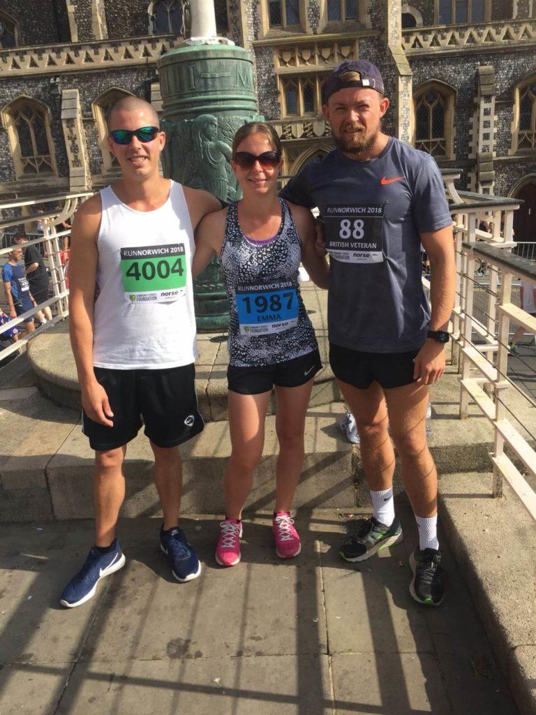 Emma Dady taking part in Run Norwich
